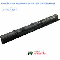 Genuine KI04 Battery for HP Pavilion 14 15 17 HSTNN-DB6T 800009-421 HSTNN-LB6S
