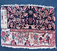Wagireh alt 54x40cm kleiner Muster Orient Teppich Sampler rug