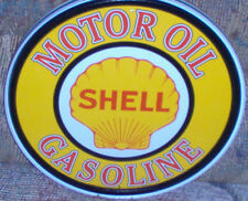 Shell Motor Oil Vintage Metal Sign #830 Gas Station Shop Auto