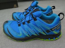 SALOMON XA PRO 3D MENS GTX GORE-TEX TRAIL RUNNING SHOES TRAINERS UK 11 BLUE