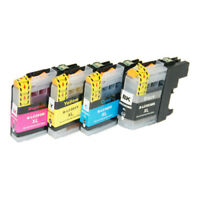 4PK INK FOR BROTHER LC-203XL LC203 LC-201 XL MFC-J485DW MFC-J680DW MFC-J880DW
