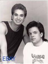 Boys Club band w/Gene Hunt Joe Pasquale VINTAGE 7x9 Photo 1988