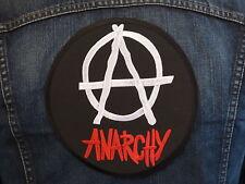 GRAND ECUSSON PATCH THERMOCOLLANT / ANARCHY punk rock mods ska skins métal hard