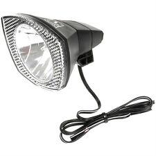 Fahrradscheinwerfer Fahrrad Lampe Beleuchtung mit Schalter f Nabendynamo 01002