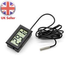 Digital LCD Refrigerator Thermometer Aquarium Fridge -50~110°C indoor outdoor UK
