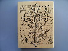 STAMPENDOUS RUBBER STAMPS LILYCROSS STAMP
