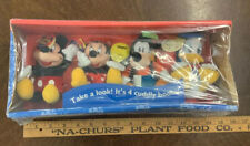 Disney's Mickey Mouse Take A Look It's 4 Cuddly Books Dolls