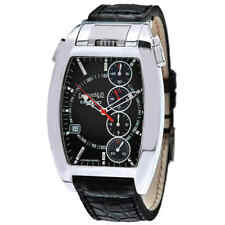 Eberhard and Co Chrono 4 Chronograph Automatic Black Dial Men's Watch 31047.3