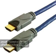 Vivanco HDMI 1.3 Kabel 0,75 m Verbindung St. vergoldet