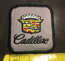 Cadillac Caddy Uniform Shirt Vintage Tag Patch Jacket Vest Biker Harley Emblem
