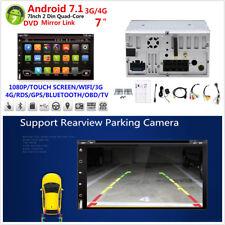 "7"" 2Din 1080P 1+16G Car Stereo Radio GPS Wifi DVD 3G/4G BT DAB Mirror Link OBD"