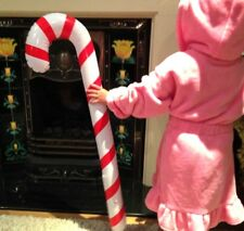 GIANT CANDY CANE INFLATABLE BLOW UP TOY BOY GIRL GIFT CHRISTMAS STOCKING FILLERS