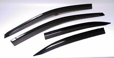 4 DOOR VENT VISOR RAIN WEATHER GUARD FOR TOYOTA VIOS BELTA YARIS SEDAN 2013-2016