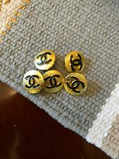 Chanel metal CC buttons. Set of 5.16 mm
