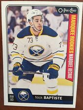 2016-17 UD Hockey Series 2 Opee Chee Marquee RC Nick Baptise #708