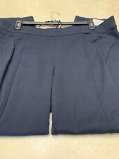 Anne Klein NEW Black Women 2X Plus Slim Leg Compression Pants Stretch $89 #089