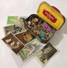 Erinmore Flake Tobacco Tin Cigarette Cards Mixed Pin Brooch Badge Lot (B50)