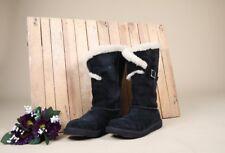 UGG Australia Suede Sheepskin Messenger Boots. Size UK 4.5/EU 37/US 6/ AEUG19001