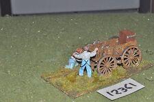 25 mm American Civil War Wagon (como Foto) (12361)