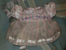 Cabbage Patch Embroidered Heart Dress (Lilac tones) ~ Minty Cond. B.I.N.