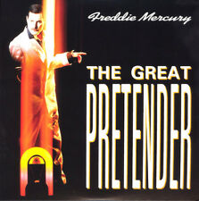 "FREDDIE MERCURY-The Great Pretender-Queen Larry Lurex Orange Vinyle 7"" NEW"