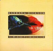 BARBARA DICKSON sweet oasis 83198 uk cbs 1978 LP PS EX/EX textured sleeve