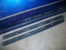 82-92 Camaro Firebird Trans Am LOWER DOOR PANEL SEALS weatherstrip tpi 91