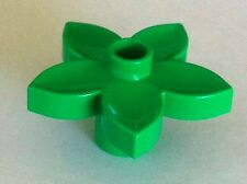 *NEW* 5 Pieces Lego Duplo BRIGHT GREEN FLOWER Plant 1 Stud