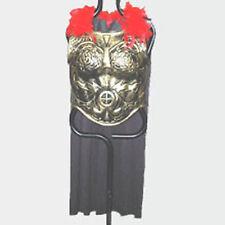 Antiqued Gold Plastic ROMAN ARMOR w/ CAPE warrior spartan greek trojan costume