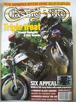 Classic Bike Magazine. No. 177. October, 1994. Triumph Renegade & BSA Tornado.