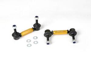 Whiteline Sway Bar Link Pair Heavy Duty KLC141 fits Holden Nova 1.4 (LE), 1.4...