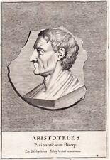 Portrait XVIIe Aristote  Ἀριστοτέλης Aristotle Philosophie Аристотель 亚里士多德 1685