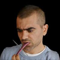 HN- BE_ GT- Realistic Fake Tongue Gross Jokes Prank Magic Tricks Prop Horrific T