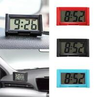 Small Self-Adhesive Car Desk Clock Electronic Watches G0L2 Digital LCD Ga Z2T2
