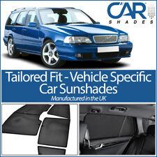 Volvo V70 Estate 97-00 UV CAR SHADES WINDOW SUN BLINDS PRIVACY GLASS TINT BLACK
