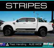 fits 2012-2019 Ford Ranger LH & RH SIDE DOOR stripes kit decals stickers stripe