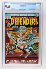 Defenders #4 - Marvel 1973 CGC 9.4 Valkyrie joins the Defenders!