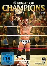 WWE Night of Champions 2012 ORIG DVD WWF Wrestling