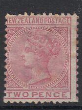 NEW ZEALAND   QV  2D rose  SG 181    Mint no gum