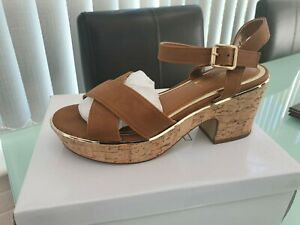 Dune Women's Sandals/Shoes In Tan And Natural -BNIB Sizes 3-8 RRP £40