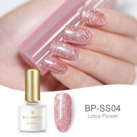 BORN PRETTY Glitter UV Gel Nail Polish Soak Off  Gel Nails DIY BP-SS04