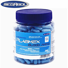 Plasmex 350 Caps. Amino Acids BCAA Bodybuilding Muscle Growth Recovery Anabolic