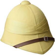 Ejército Británico Tropical Médula casco de servicio exterior en color caqui