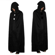 New Halloween Costume Theater Prop Death Hoody Cloak Devil Long Tippet Cape
