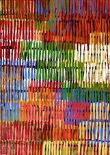 Adam Reid, Fire Dreaming, ORIGINAL Aboriginal Art 92x62cm w/ COA