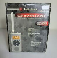 NEW RADIO SHACK Pro-107 iScan Multi-Trunking Radio Scanner w/Box Cable Software