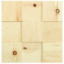 Wandverkleidung Holz  wodewa 100   Wanddeco Holz I Holzmosaik I selbstklebend