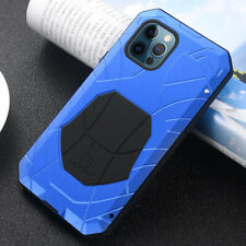 Aluminum Metal Silicone Heavy Duty Case For iPhone 12 Pro Max Huawei Mate 40 Pro