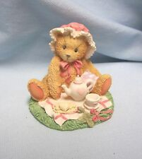 Cherished Teddies Figurine 1992 Marie - Friendship Is A Special Treat 910767