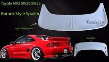 FRP Toyota MR2 SW20 SW25 MR-2 Rear Bonnet Spoiler Wing BOMEX Style 89-99 Fibre